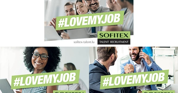 Nouvelle campagne : #LOVEMYJOB