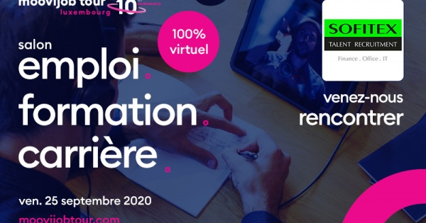 Sofitex Talent Recruitment présent au Moovijob Tour 2020 en virtuel !